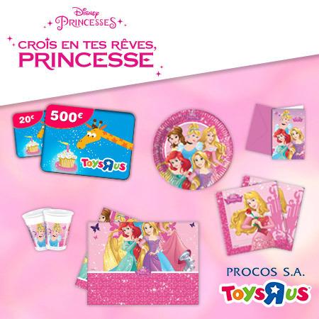 Fêtez votre anniversaire comme une princesse et tentez de gagner une carte cadeau de 500€ !