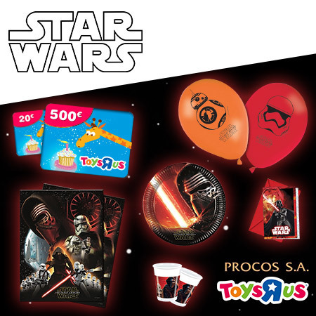 Fêtez votre anniversaire comme un Jedi et tentez de gagner une carte cadeau de 500€ !