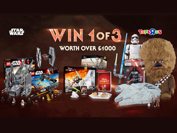 Win a Star Wars prize bundle!