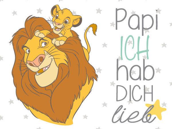 Papa-Kind Motive