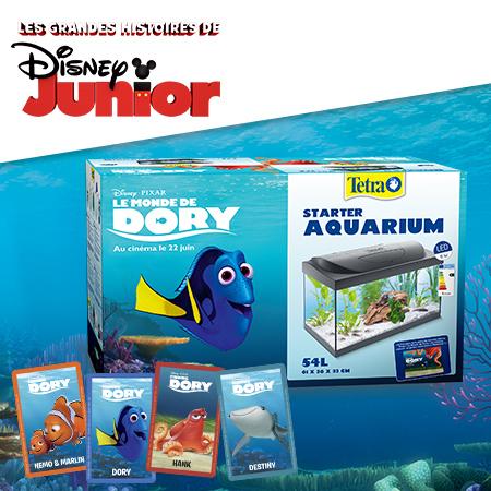 Tentez de gagner un aquarium Le Monde de Dory et pleins d'autres cadeaux !