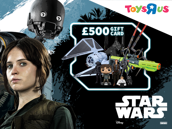 Win an epic £500 Toys 'R' Us gift card!