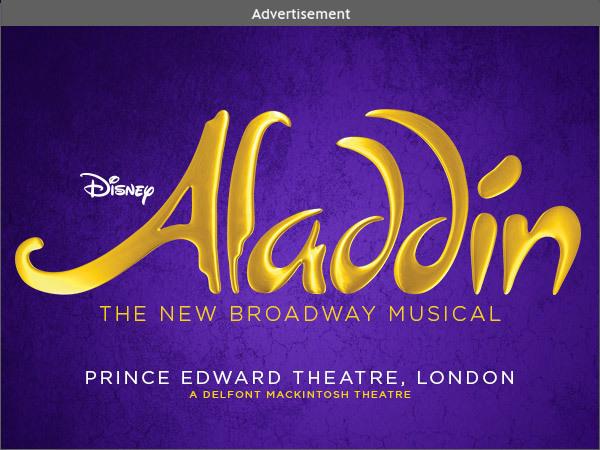 Aladdin on Stage