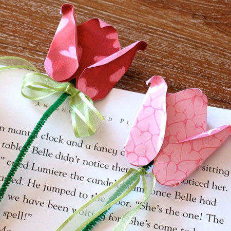 Belle's Valentine Bookmark
