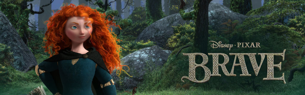 UK - Brave - Movie site animated hero