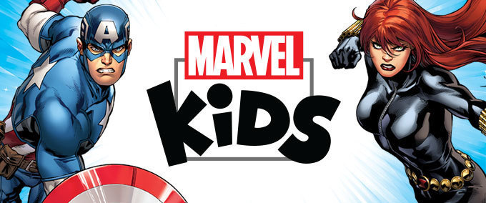 Marvel Kids Mazes & Crosswords