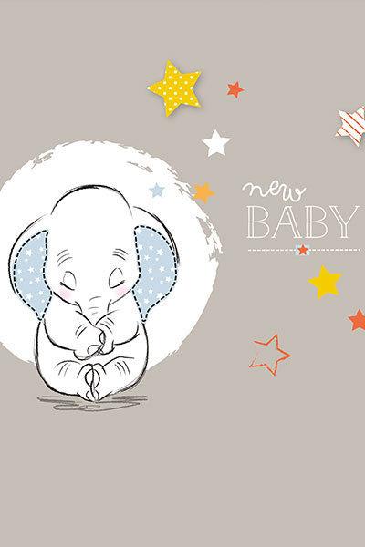 Dumbo New Baby Wall Print Disney Family