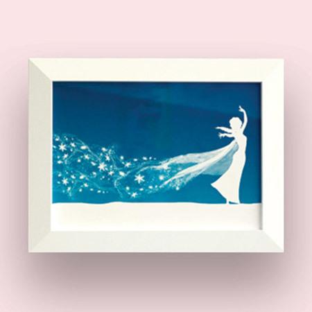 Elsa Silhouette Art Craft