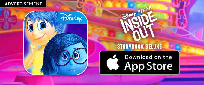 Inside Out: Storybook Deluxe App
