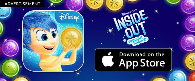 Inside Out: Thought Bubbles App