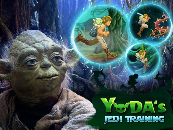 Yoda's Jedi Training Game