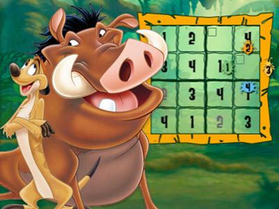 Timon & Pumbaa's Sudoku