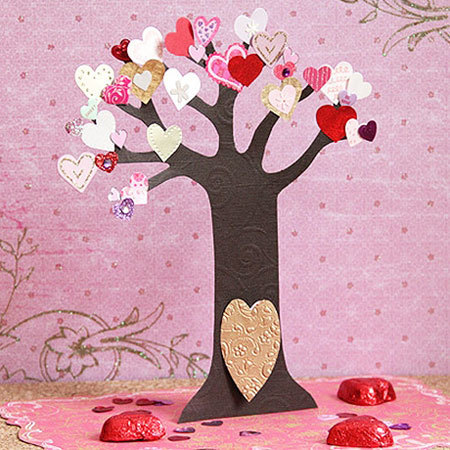 Fairies Valentine's Tree