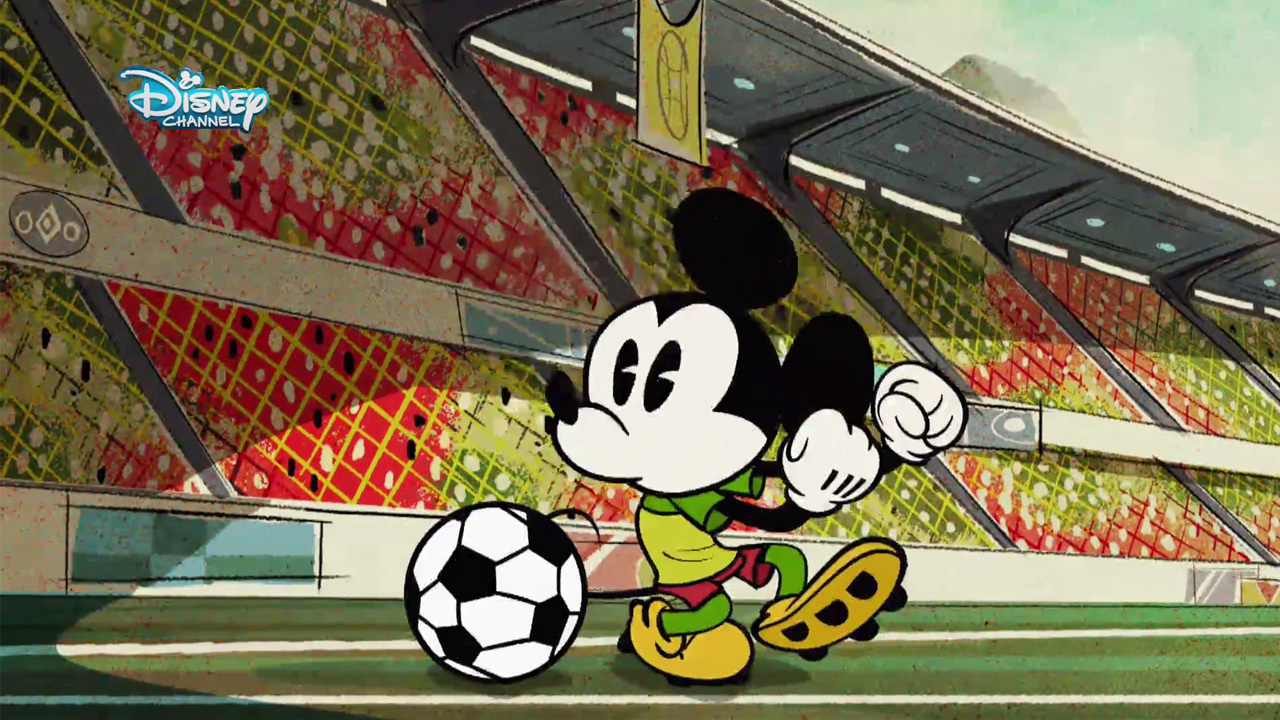Micky Kurzfilm - Micky beim Fussballspiel