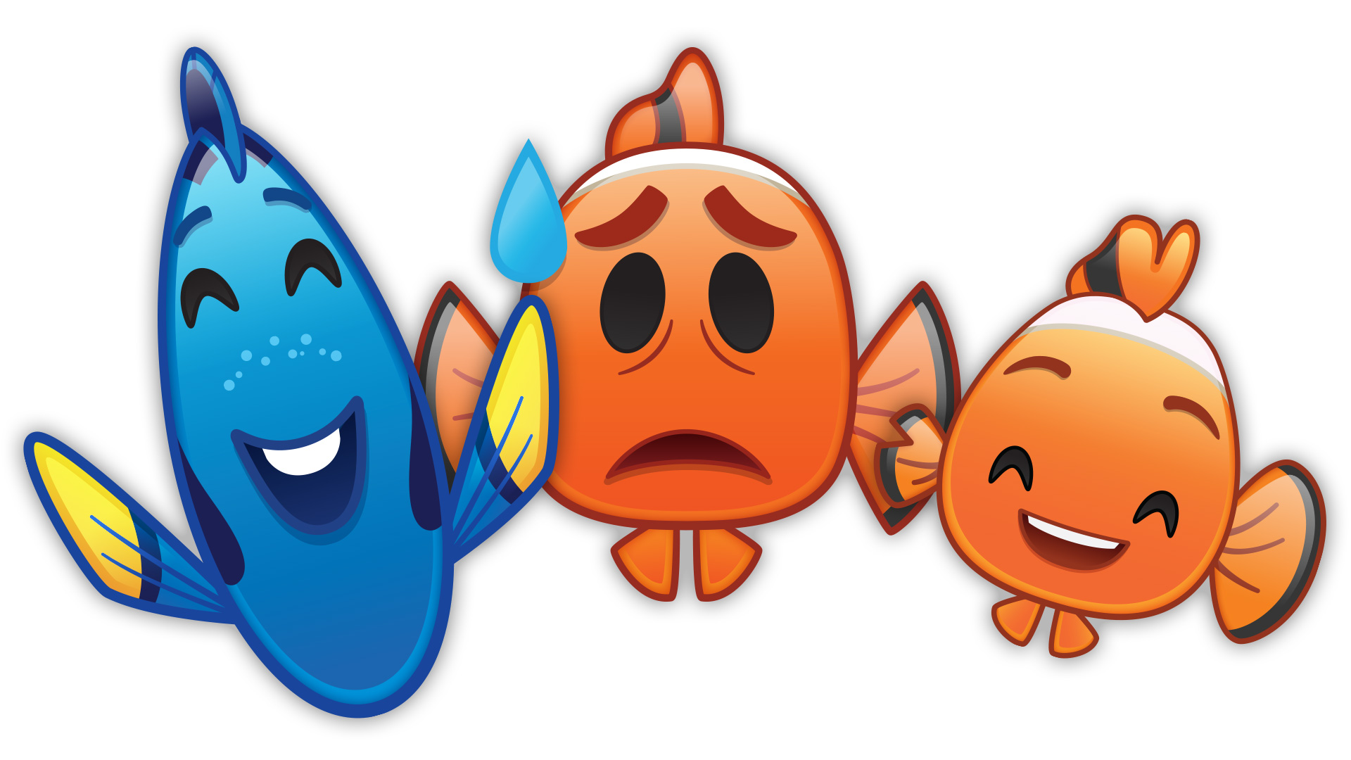 Findet Nemo - Emoji Version