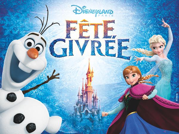 Fête Givrée à Disneyland® Paris !