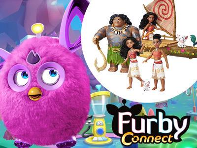 Win a Furby Connect & a Moana Prize Bundle