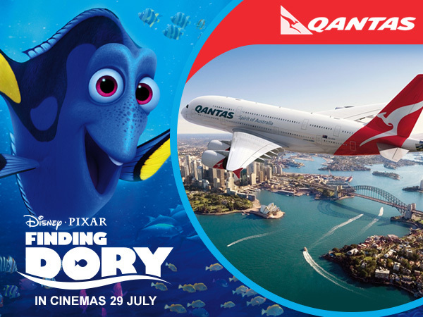Win a holiday to Australia with Disney and Qantas!