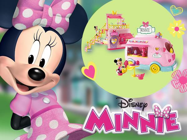 Win Minnie toys!
