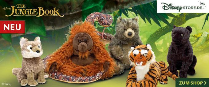 The Jungle Book im Disney Store