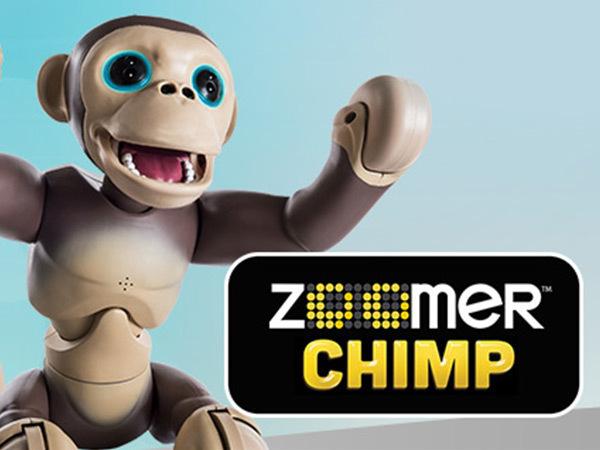 Win 1 of 3 Zoomer Chimp
