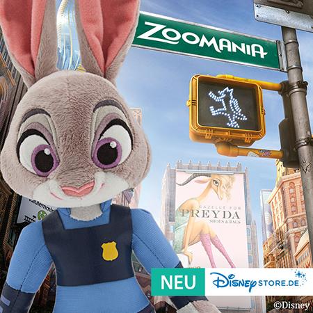 Zoomania im Disney Store